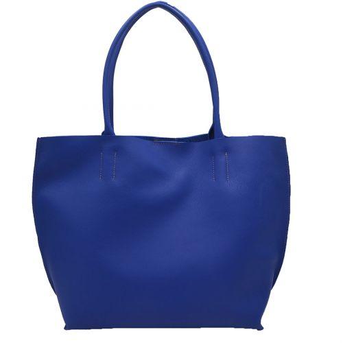 Bolso Annie Piel Ibiza Azul Cobalto